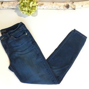 Levi's Denim Legging Jeans Size 9 Short Dark Wash